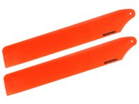 Plastic Main Blade 125mm (ORANGE) - T-REX 150 DFC [MH-TX15003OR]