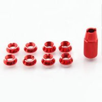 Radio Control Transmitter Switch Nut for Futaba T8FG T14SG T18sz T16sz with Wrench (RED)[09-472]