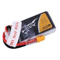 Tattu 3S1P 75C 11.1V 650mAh Lipo Battery Pack with XT30 Plug [TATTU-019]