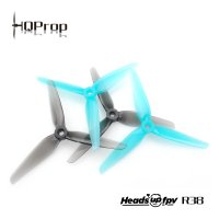 HeadsUp Racing Prop R38 Blue (2CW+2CCW)-Poly Carbonate [HQ-795759]