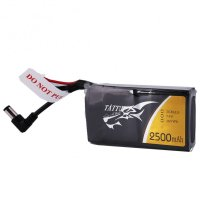 Tattu 2500mAh 2S 7.4V replacement lipo battery pack with DC3.5mm plug for Fatshark Goggles [TATTU-]