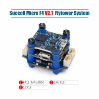 SucceX Micro F4 V2.1 15A 2-4S Flight Tower System (MPU6000,ESC Plugs)[IF-FC07418]