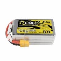 Tattu R-Line V3.0 1050mAh 22.2V 120C 6S1P Lipo Battery Pack with XT60 Plug [Tattu]