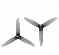 Gemfan Hurricane 3016 Durable 3-Blade Propeller (2mm/2ペア/Clear Gray) []