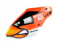 Airbrush Fiberglass Angry Bird Canopy - BLADE NANO S2 [MH-NAS2080AB]