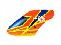 Airbrush Fiberglass X-Pro Canopy - BLADE NANO S2 [MH-NAS2080XP]