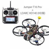 ★数量限定特別セット★ LDARC HD140 (HD版) BNF 4S CineDrone + Jumper T16 Pro Transmitter