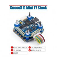 SucceX-D Mini F7 TwinG Stack (Mini F7+40A ESC) [IF-]