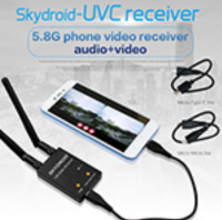 Skydroid UVC Dual Antenna Control RX OTG 5.8G 150CH Full Channel FPV Receiver W/Audio [09-634]