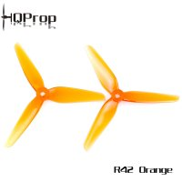 <img class='new_mark_img1' src='https://img.shop-pro.jp/img/new/icons34.gif' style='border:none;display:inline;margin:0px;padding:0px;width:auto;' />HQ Racing Prop R42 Orange (2CW+2CCW)-Poly Carbonate [HQ-795797]