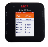 ISDT Q8 Max BattGo 1000W 30A Battery Balance Charger Discharger 1-8S Lipo Battery [ISDT-Q8-MAX]
