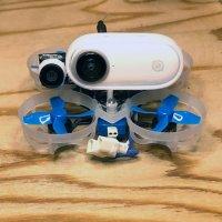 Insta360 GO camera mount for whoop - Horizontal Ver. [vt]