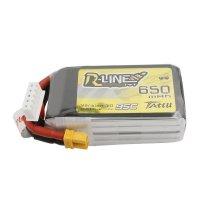 Tattu R-Line 650mAh 14.8V 4S1P 95C Lipo Battery with XT30 Plug[Tattu]