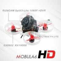 Happymodel Mobula6 HD 65mm Crazybee F4 Lite 1S Whoop FPV Racing Drone BNF [FB-6468968]