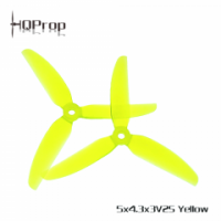 HQ Freestyle Prop 5X4.3X3V2S Yellow (2CW+2CCW)-Poly Carbonate [HQ-796060]