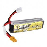 TATTU R-LINE  500mAh 7.4V 95C 2S Lipo Battery [Tattu]