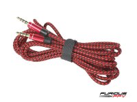 FuriousFPV Dock-King Audio Video Cable [FF-0386-S]