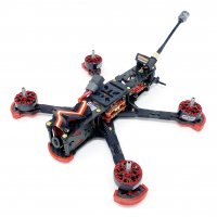 HGLRC Sector 5 V3 (4S/6S)Freestyle FPV Racing Drone (Caddx Ratel Camera/ SFHSS BNF  [MA-]