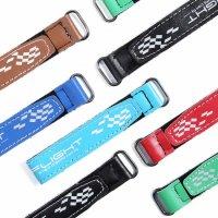 IFLIGHT 15x150mm Microfiber PU Leather Battery Straps 5Pcs  [IF-OP]