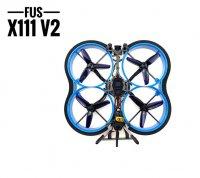 FUS X111 V2 2.5インチ 111mm  3-4S  FPV レーシング RCドローン /Runcam Nano 2 搭載(BNF SFHSS/FRSKY RX)