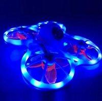 Emax 1M 2.5mm LED Non-Waterproof LED Strip Light 5V for FPV RC Drone - Light Blue [CN-1438137]