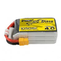 Tattu R-Line Version 4.0 1050mAh 22.2V 130C 6S1P Lipo Battery Pack With XT60 Plug ドローンバッテリー [TATTU]