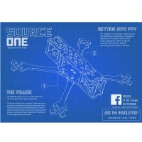 TBS Source One HD 5inch Racing FPV Drone [TBS-149]