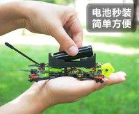 Nano3 1S 3inch Mini RC BNF FPV Drone (18650 ドローン) SFHSS RX[]