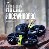 <img class='new_mark_img1' src='https://img.shop-pro.jp/img/new/icons34.gif' style='border:none;display:inline;margin:0px;padding:0px;width:auto;' />Racewhoop30 FPV Racing Drone by HGLRC & Free Zillion - Analog Version - 6S [MA-]