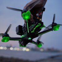 IFLIGHT Nazgul Evoque F5X/F5D  6S Analog FPV Drone- BNF [IF-OP]