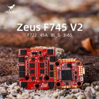 HGLRC ZeusF745 V2 STACK FPV Racing Drone 3-6S F722 Flight Controller 45A BL_S 4in1 ESC [MA-FT03021]