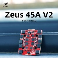 HGLRC Zeus 45A V2 4in1 ESC 3-6S BL_S with for FPV Racing Drone Freestyle[MA-]