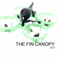 The Fin Canopy V2.3 - スーパーライトTinyドローンキャノピー [VTF]