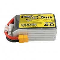 Tattu R-Line Version 4.0 1300mAh 22.2V 130C 6S1P Lipo Battery Pack With XT60 Plug ドローンバッテリー [TATTU]