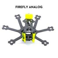 FLYWOO Firefly Hex Nano 1.6'' Frame kit (Analog)[ FW-HEXFLFR01]