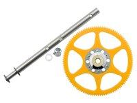 Delrin Main Gear w/ Auto-Rotation Hub set - BLADE 130X 用 (MH-130X067)