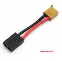 Female Traxxas <-> Male XT60 (5CM / 14AWG) [03-190]