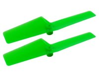 Long Plastic Tail Blade 47mm (GREEN) - T-REX 150 DFC[MH-TX15040GR]