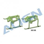 【H15F001XSW】 ランディングスキッド 緑 Landing Skid  【T-REX150】(TR)