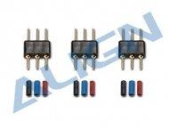 【HMP15M01】 モータープラグ&ピンセット Motor Plug & Pin Set 【T-REX150】 (TR)