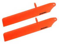 Bullet Plastic Main Blade 125mm (ORANGE) - T-REX 150 DFC [MH-TX15303OR]