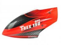 Airbrush Fiberglass Red Racing Canopy - T-REX 150 DFC[MH-TX15080RR]
