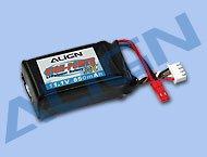 【HBP85001】 リポバッテリー Li-Po battery  3S1P 11.1V 850mAh/30C 【T-REX250】(TR)