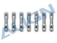 【H25042T】 六角ボルト アルミ製 Aluminum Hexagonal Bolt 【T-REX250】(TR)