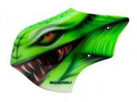 Airbrush Fiberglass Green Dinosaur Canopy - T-REX 150 DFC [MH-TX15094GS]