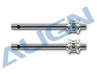 【H45100T】 テールロータシャフト Tail Rotor Shaft 【T-REX450S/SE/V2/Sport/Sport V2/Pro /Plus】 (TR)