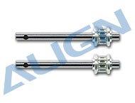 【H45100T】 テールロータシャフト Tail Rotor Shaft 【450S/SE/V2/Sport/Sport V2/Pro /Plus】 (TR)