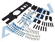【HS1120T 】 カーボンフレーム部品セット CF Frame Parts Set 【T-REX450S/SE/SE V2】 (TR)