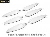 Helifactor 200QX Sport Foldable Blade -White (6 pcs, 3R+3L) (HF200QX04WT)