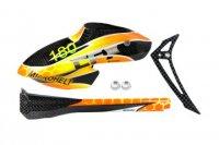 Airbrush Carbon Fiber Black Devil Fuselage set - BLADE 180 CFX[MH-18FX-FLBD]
